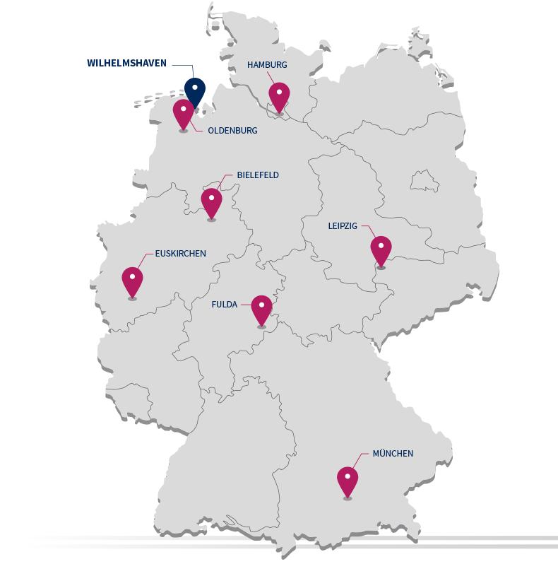 LAEPPCHÉ Standorte in Deutschland